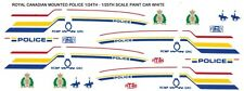 ROYAL CANADIAN MOUNTED POLICE Cady 1/24th - 1/25th Waterslide Decals last 1