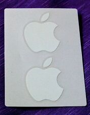 New White Genuine Official Apple Mac iPhone Logo Decal Stickers Different sizes