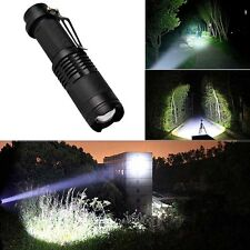 5000LM Ultrafire Zoomable CREE XM-L T6 LED Flashlight Torch Super Bright Light