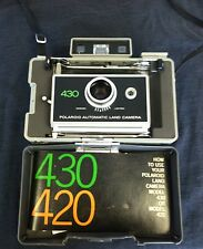 VINTAGE Polaroid Land Camera 430, Manual, Parts ONLY