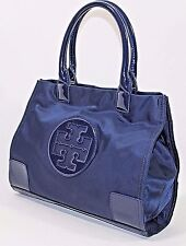 Tory Burch 'Mini Ella' Nylon Tote, NAVY - Pre-owned (See Condition)