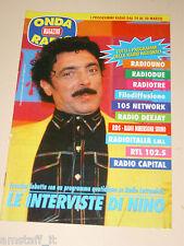 ONDA TIVU RADIO TASCABILE=NINO FRASSICA RADIO LATTEMIELE=ANNI '90=