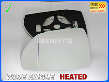 Wing Mirror Glass AUDI Q7 II 2015-2017 Wide Angle HEATED Left Side #A034