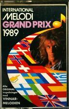 MELODI GRAND PRIX  EUROVISION 1989 CCMC 10018 Scandinavia Cassette Tape MC