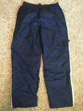 Mens NIKE fitness Pants Sz 2XL athletic track gym ski hiking Lined Blue Kd6
