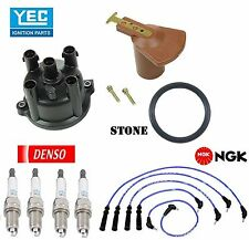 Tune Up Kit Wires Cap Rotor Spark Plugs for Toyota Pickup L4; 2.4L 1993-1995