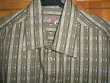 "BNWOT - S OLIVER MEN'S SHIRT 100% COTTON OLIVE GREEN SIZE M CHEST 38"" - 40"""