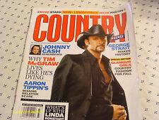 Tim McGraw Covers Country Weekly Magazine 2004 Johnny Cash George Strait