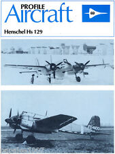 Profile Publications • Aircraft No. 69 • Henschel Hs 129
