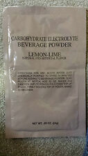 Meal Ready to Eat (MRE) Electrolyte Beverage Powder 25pcs Drink Cadet Ration IMP