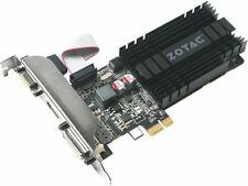 ZOTAC GeForce GT 710 DirectX 12 ZT-71304-20L 1GB 64-Bit DDR3 PCI Express x1 HDCP