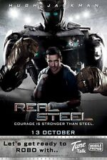 Real Steel Movie Poster 24x36in #03