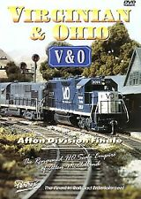 VIRGINIAN & OHIO AFTON DIVISION HO SCALE ALLEN McCLELLAND PENTREX DVD VIDEO
