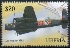 RAF Avro LANCASTER Mk.I Bomber Aircraft Stamp (Liberia)