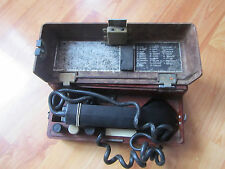 old Russian military radio transmitter TAP. 3,5 kg (7,7 lbs) -bakelite