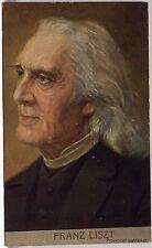 CPA  POSTCARD Portrait de  FRANZ LISZT  1900   Lae821