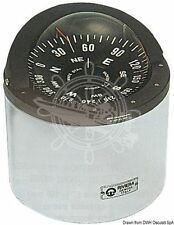 "RIVIERA Boat Marine Compass 6"" 150mm White for sail boats"
