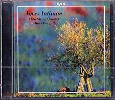 SIBELIUS String Quartet BERG Lyric Suite WOLF Italian Serenade OSLO SQ CPO CD