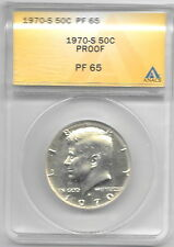 1970-S-Kennedy-Silver-PROOF-Half-Dollar-50c-ANACS-PF-65