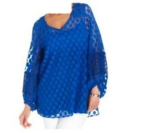 Women's Wedding Mother Bride cocktail evening party lace tunic top plus 2X