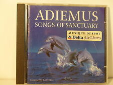 CD ALBUM ADIEMUS Songs of sanctuary Musique spot DELTA AIRLINES KARL JENKINS