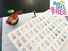 PP183 -- 60pcs Cutlely Life Planner Stickers for Erin Condren