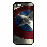 Captain America Marvel Avengers Supe PHONE CASE COVER fits IPHONE 4s 5s 5c 6s 6+