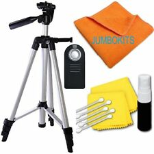 "LIGHTWEIGHT 57"" PHOTO TRIPOD + REMOTE For NIKON D5000 D5100 D5200 D5300 D5"