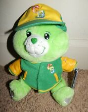 RARE Care Bears TEAM SPIRIT GOOD LUCK BEAR 20th Ann Celebration Stuffed Plush