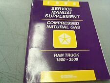 1996 Ram Truck 1500 - 3500  Compressed Natural Gas CNG Service Manual Supplement