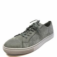 Public Opinion Pacifica Grey Nubuck Leather Fashion Sneaker Shoes Mens Size 9 M