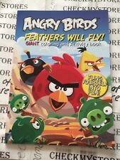Angry Birds Feathers Will Fly GiantColoring and Activity Books for Kids 96pg