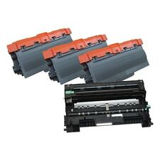 3 Compatible Brother TN750 Toner Cartridge +  1 Brother DR720 Drum MFC 8910 8950