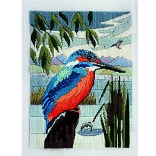 Derwentwater Designs Long Stitch Kit - Kingfisher