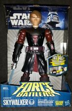 NEW Hasbro Anakin Skywalker Force Battlers Lightsaber Attack Action Figure