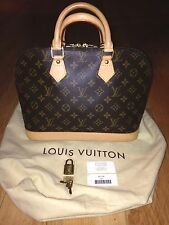 Authentic Louis Vuitton Alma PM Purse/Bag- Made in FRANCE Excellent Condition!