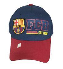 FC BARCELONA SOCCER HAT CAP FCB OFFICIAL ADJUSTABLE licensed product