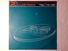 """THE END feat. KAY BIANCO Feel the vibe 12"""" ITALO ZONE MOLELLA PHIL JAY"""