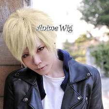 Axis Powers Hetalia APH England Ash Blonde Short 30CM Anime Cosplay Wig