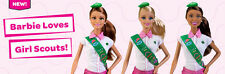 ALL 3 Barbie Girl Scout Dolls, Barbie, Nikki, Teresa  new in box  SALE!!!!