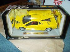 1990 lamborghini Diablo yellow 1/18 special edition Maisto