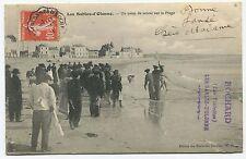 Les Sables d'Olonne - Un coup de Senne sur la plage. 1911