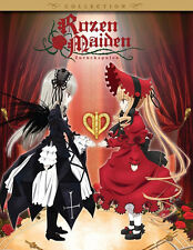 Rozen Maiden . Zurückspulen . Season 3 . Complete Collection . Anime . 2 DVD NEU