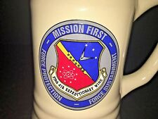 USAF 379th AIR EXPEDITIONARY WING B-1B C-17 B-52 C-130 QATAR MUG