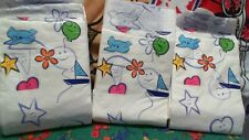 ADULT DIAPERS 8 AB PRINTING DIAPERS SIZE SMALL ( ABDL ) FOR YOUR BIG BABY