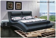Wasserbett Bett Betten Polster Wasser Soft Leder Doppel Ehe Komplett Set Oliv!