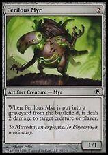 *MRM* FR 4x Myr périlleux (Perilous Myr) MTG Scars of mirrodin