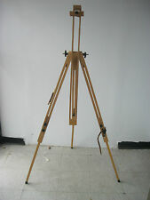 Quality Wooden Plein Air Artist Sketch Field Tripod Easel Beech Wood (Brand-New)