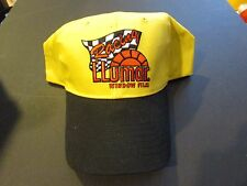 Team Llumar Unlimited Hydroplane Embroidered Baseball Cap Black & Yellow V-2