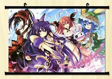 Date A Live Tokisaki Kurumi Dakimakura Home Decor Japanese Poster Wall Scroll C8